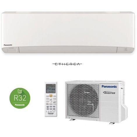Panasonic Etherea 2,5kW Weiß Klimaanlage Inverter Wärmepumpe Klimagerät SET NEU
