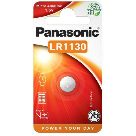 Panasonic LR 1130 - Single-use battery - Alcaline - 1,5 V - 65 mAh - 11,6 mm - 11,6 mm (LR1130L/1BP)