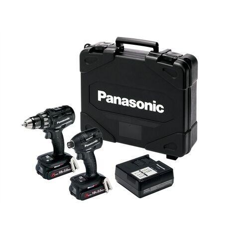 Panasonic PANC215PN2G EYC215PN2G Twin Pack 18V 2 x 3.0Ah Li-Ion