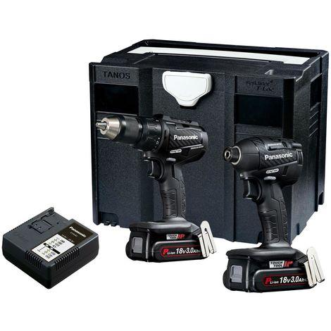 Panasonic PANC225PN EYC225PN2G Twin Pack 18V 2 x 3.0Ah Li-Ion