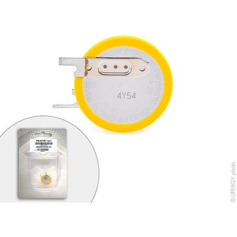 Panasonic - Pila botón litio blister CR2032/VS1N PANASONIC 3V 220mAh