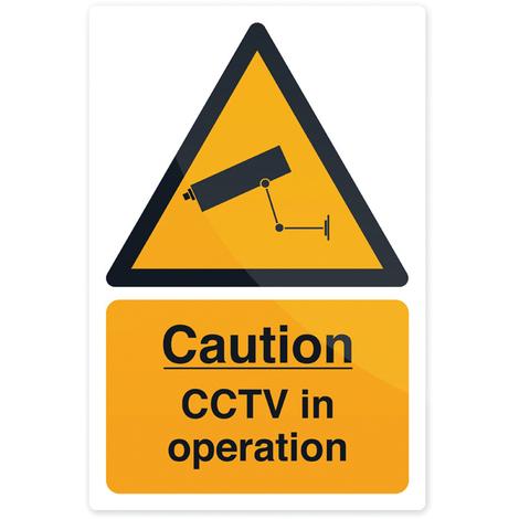 """Pancarte """"Zone sous vidéo surveillance"""" Pancarte rigide, 200 x 300 mm"""