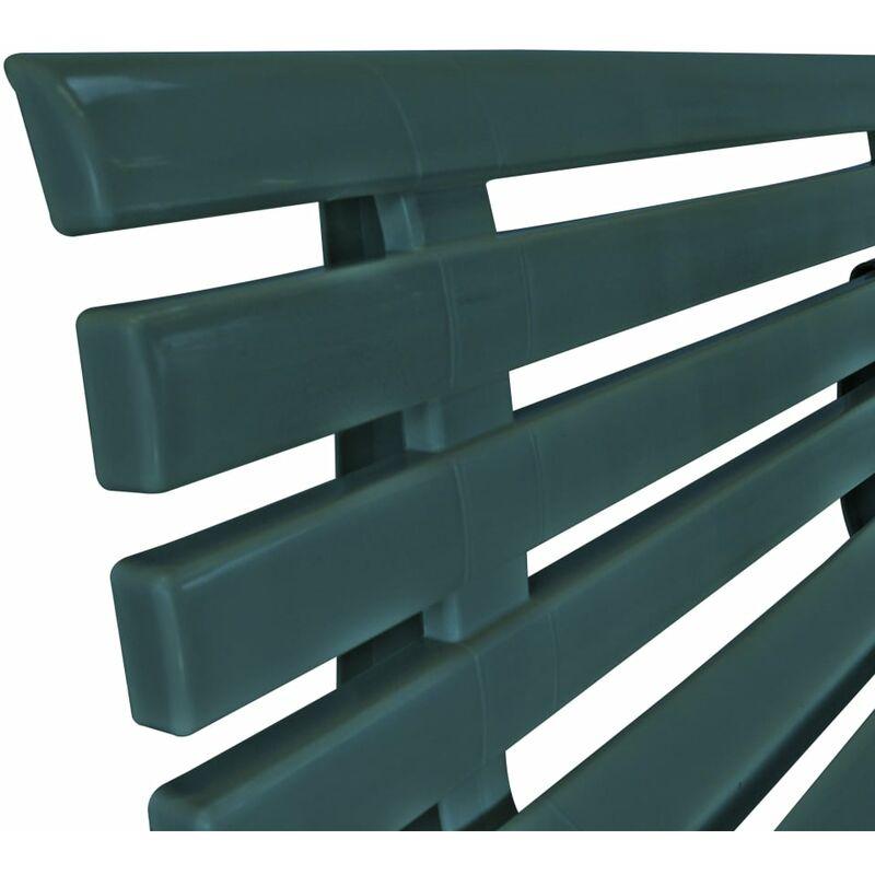 Panchina In Plastica Verde.Panchina Da Giardino 145 5 Cm In Plastica Verde