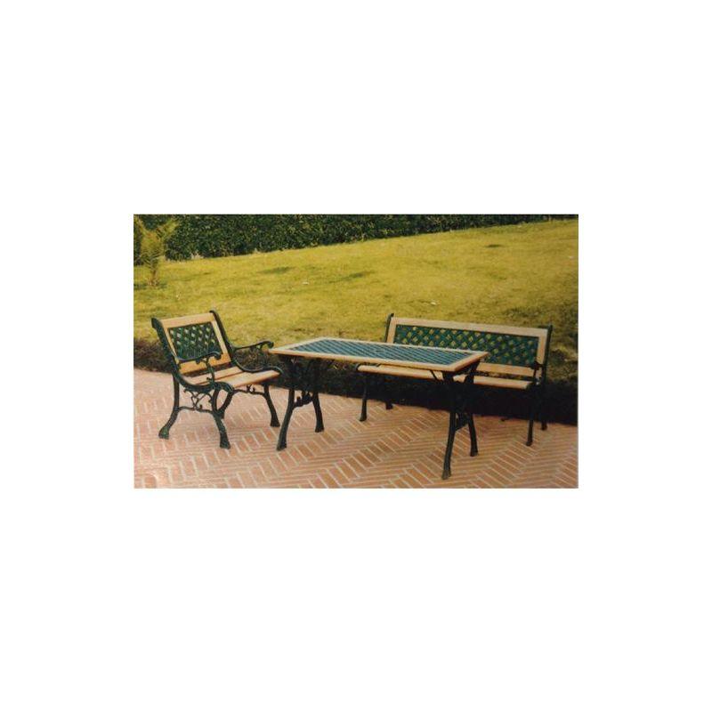Panchine Da Giardino In Ghisa : Panchina da giardino in ghisa doghe in legno losanghe xh cm