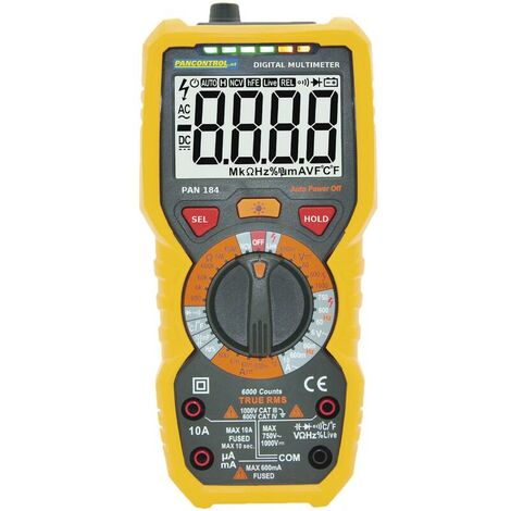 Pancontrol Digital Multimeter 1000V True RMS