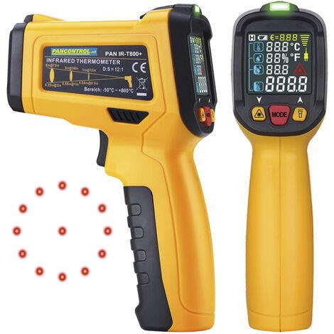Pancontrol Thermomètre numérique infrarouge PAN IR-T800+ affichage laser