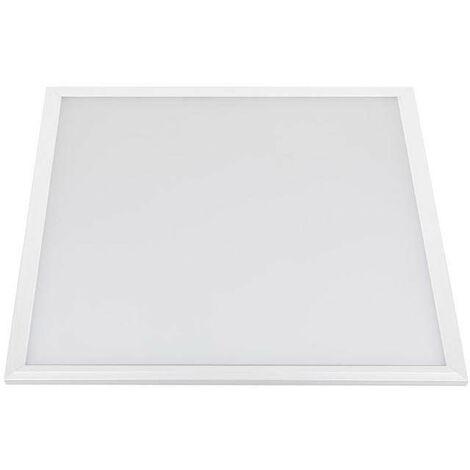Panel 50W, Samsung ChipLed + TUV driver, 60x60 cm, marco blanco