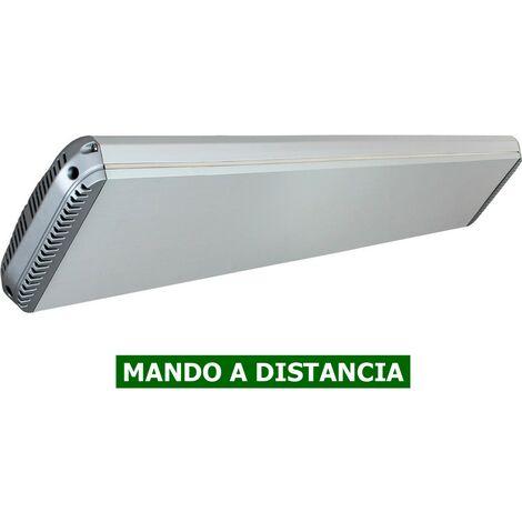 Panel calefactor radiante casafan 9818194 casatherm hottop / d 1800 gris plateado