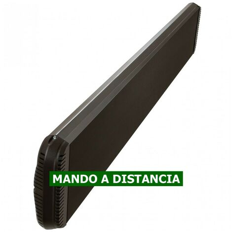 Panel calefactor radiante casafan 98244 casatherm hottop / d 2400 negro mate