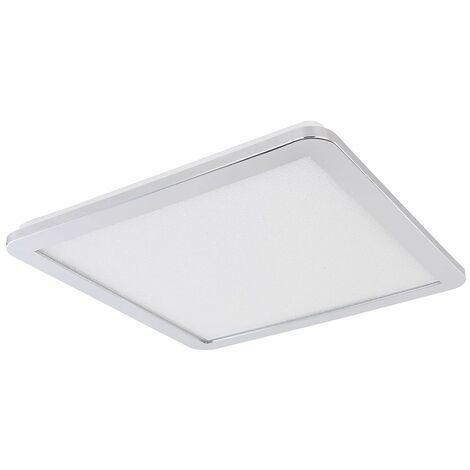 Panel de construcción LED lámpara de techo sala de estar CCT cristales luminaria luz diurna Globo 41561-24