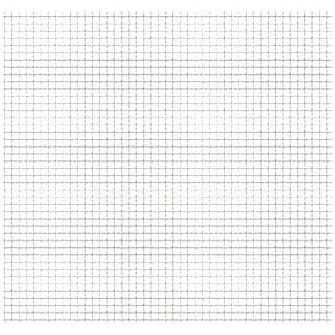 Panel de malla alambre rizado acero inox. 50x50 cm 31x31x3 mm