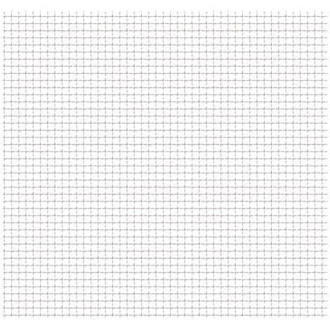 Panel de malla de jardín alambre rizado 50x50cm 11x11x2mm acero