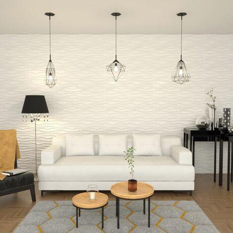 Panel de pared 3D 12 unidades 0,8x0,625 m 6m²