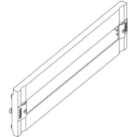 Panel de plástico Bticino MAS160 con ventana, rieles de perfil de sombrero 35 9429/24PL