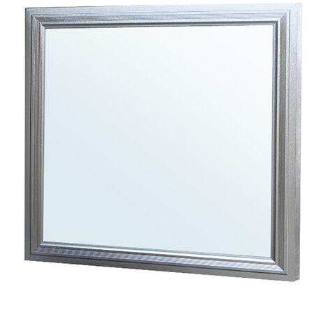 Panel de techo LED 30x30 cm luz 12W blanco frío superficie lámpara plafón techo