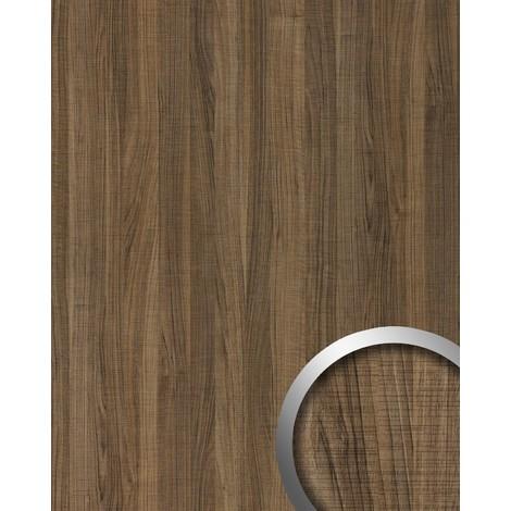 Panel decorativo aspecto madera WallFace 19028 NUTWOOD COUNTRY nogal decoración de maderatacto natural revestimiento mural autoadhesivo marrón 2,60 m2