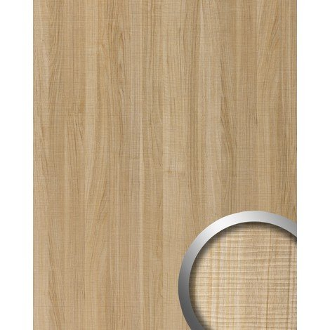 Panel decorativo aspecto madera WallFace 19029 MAPLE ALPINE arce decoración de madera tacto natural revestimiento mural autoadhesivo marrón marrón claro 2,60 m2