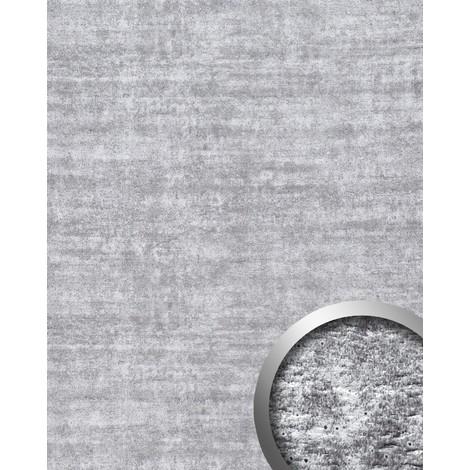 Panel decorativo autoadhesivo de diseño hormigón WallFace 16429 URBAN con marcas del encofrado gris claro 2,60 m2