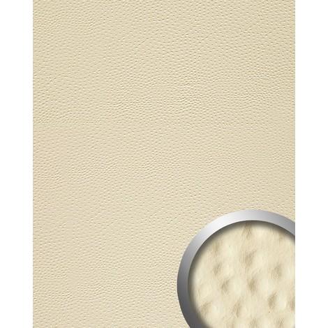 Panel decorativo autoadhesivo de diseño piel de avestruz 13401 OSTRICH con relieve 3D color crema 2,60 m2