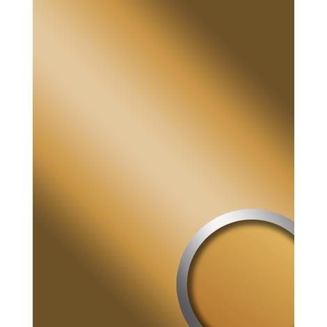 Panel decorativo autoadhesivo de lujo WallFace 10187 DECO GOLD Efecto de espejo brillante dorado 2,60 m2