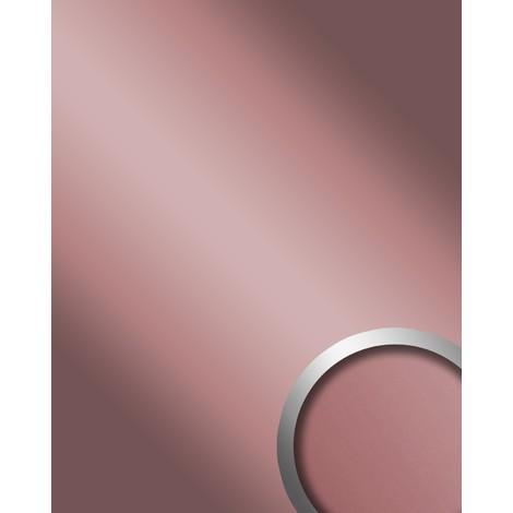Panel decorativo autoadhesivo Optica espejo WallFace 12428 DECO ROSE brillante resistente a la abrasión lila 2,60 m2