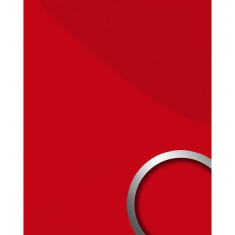Panel decorativo autoadhesivo resistente WallFace 16461 DECO MAGIC a la abrasión ligeramente brillante rojo 2,60 m2