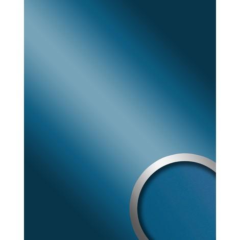 Panel decorativo autoadhesivo WallFace 10219 DECO SKYBLUE Optica espejo brillante azul 2,60 m2