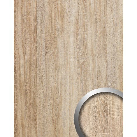 Panel decorativo autoadhesivo WallFace 17279 DECO OAK TREE Decoración de madera beige 2,60 m2