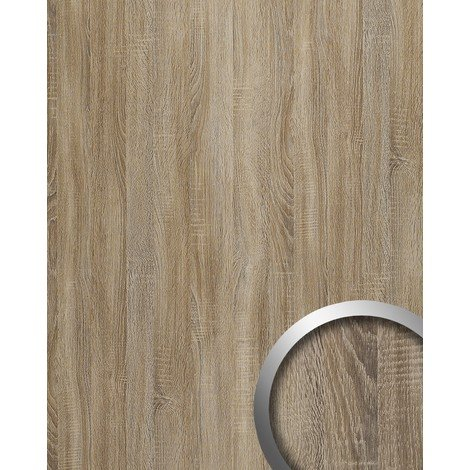 Panel decorativo autoadhesivo WallFace 17281 DECO OAK TREE Decoración de madera gris 2,60 m2