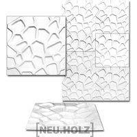 Panel decorativo de mesa en 3D papel pintado - Decoración (500x500mm) - Motivo D