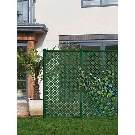 Panel decorativo Privat 1x2m Verde Nortene