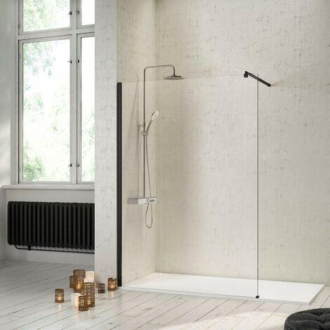 Panel fijo de ducha FRESH Negro