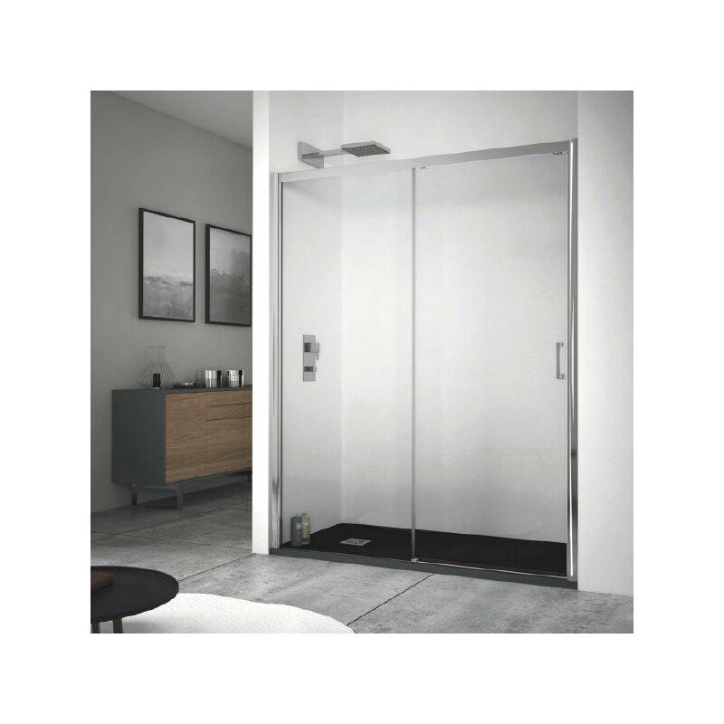 Mundilite - Panel Fijo + Puerta Corredera KENNEDY SIN DECORADO 160 cm Sin lateral