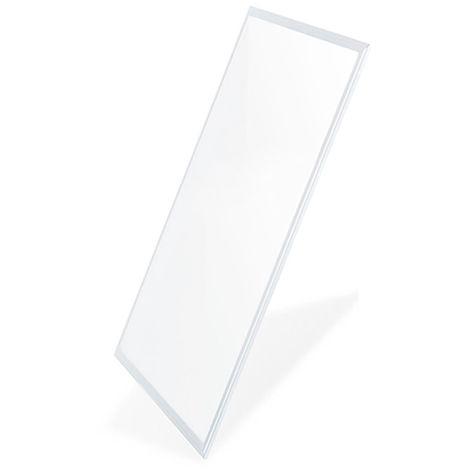 Panel LED 120X30 cm 40W Marco Blanco