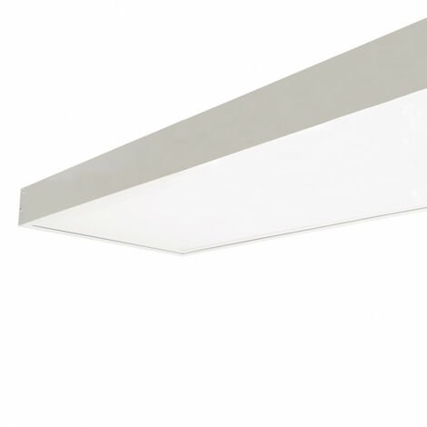 Panel LED 120x30cm 40W 4000lm + Kit de Superficie