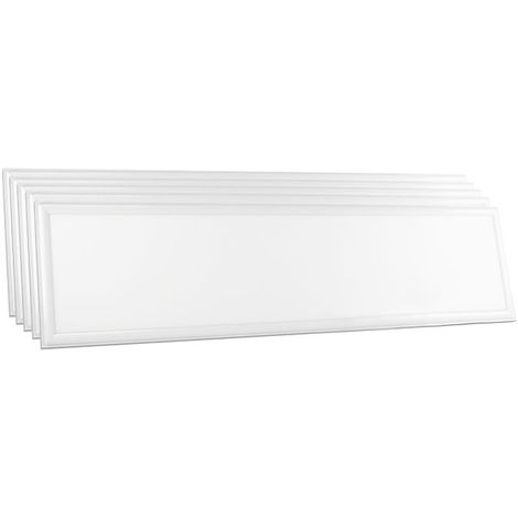Lot De 6 Dalles LED 120x30 45W Vt-12030 - Blanc Chaud - 3000k - 120 Deg V-TAC