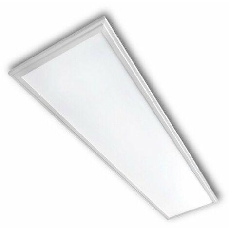 Panel LED 30x120 40W Marco blanco