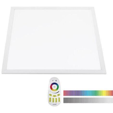 Panel LED 40W, RGB+CW, RF, 60x60cm, RGB + Blanco frío, Regulable