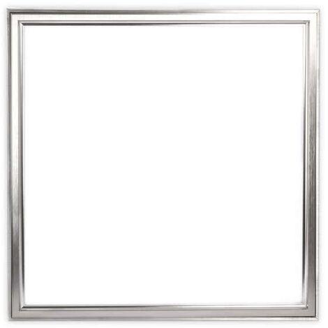 Panel Led 48w Superficie Ladon Níquel luz fría 60x60