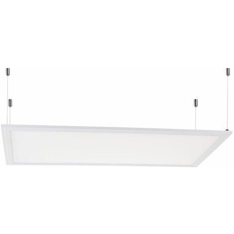 Panel LED  60x30Cm 22W 2100Lm 30.000H Marco Blanco