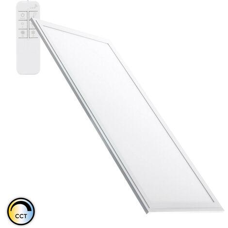Panel LED 60x30cm 24W 2400lm Regulable CCT Seleccionable Seleccionable (Cálido-Neutro-Frío) - Seleccionable (Cálido-Neutro-Frío)