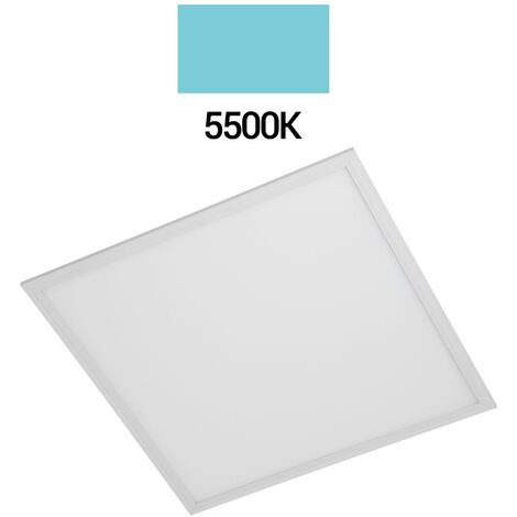 PANEL LED 60X60 EMPOTRABLE 40W MARCO BLANCO 3280LM 5500K