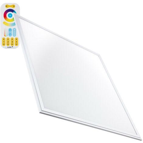 Panel LED 60x60cm 36W 3600lm Slim RGBWW Regulable RGBWW - RGBWW