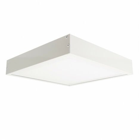 Panel LED 60x60cm 40W 5200lm High Lumen + Kit de Superficie
