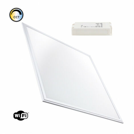 Panel LED 60x60cm 40W Smart WiFi Regulable CCT Seleccionable Seleccionable (Cálido-Neutro-Frío) - Seleccionable (Cálido-Neutro-Frío)