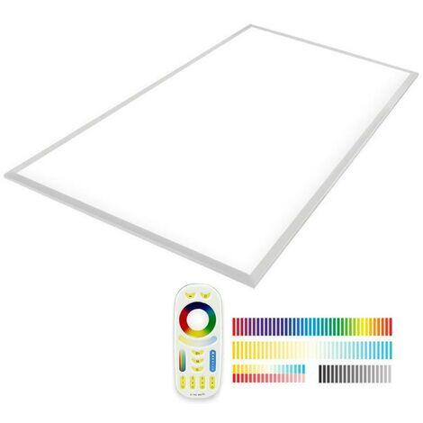 Panel LED Backlit 65W, FUT045A, RGB + CCT, RF, 60x120cm, RGB + Blanco dual, regulable - RGB + Blanco dual