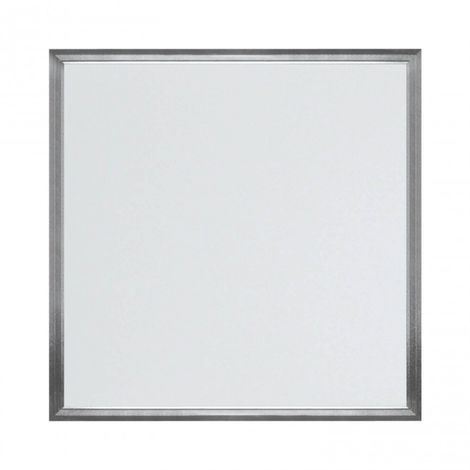 Panel LED cuadrado 595 x 595 mm 48W 4000K Aluminio Cepillado