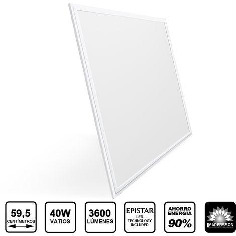 Panel LED Cuadrado Extrafino URANUS 40W 3600 Lúmenes 6000K Blanco Frío
