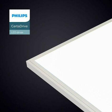 Panel LED de superficie 120x30cm con Kit de montaje