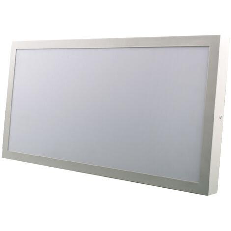 Panel Led de superficie Chef marco blanco 36W 3000Lm 5000°K 600x300mm. (Ledesma 10273)